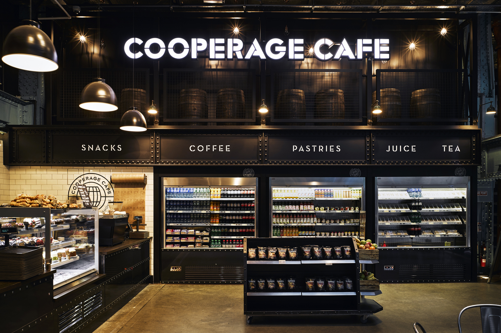 Cover image: Guinness Storehouse - The Cooperage