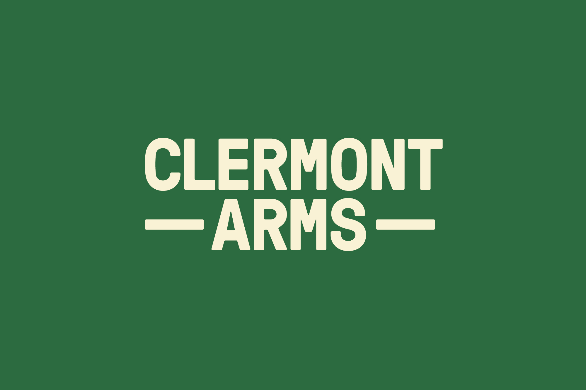 Cover image: Clermont Arms