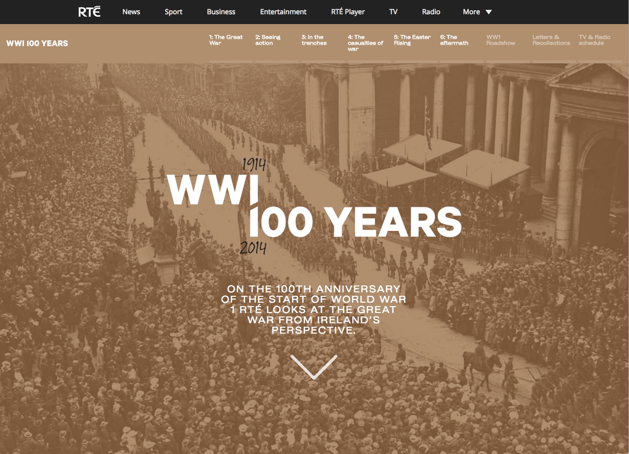 Cover image: WW1 100 Years