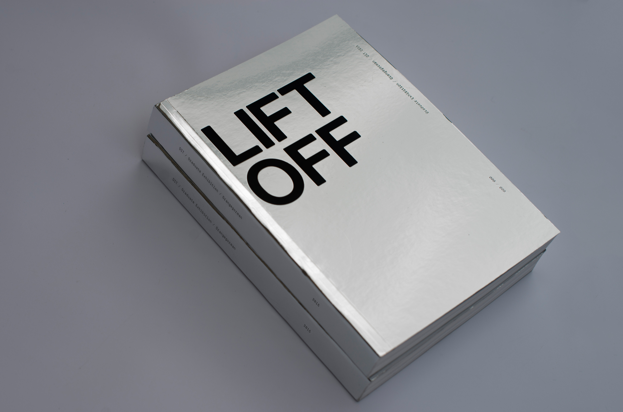 Cover image: LIFT OFF – DIT Graduate Exhibition 2015