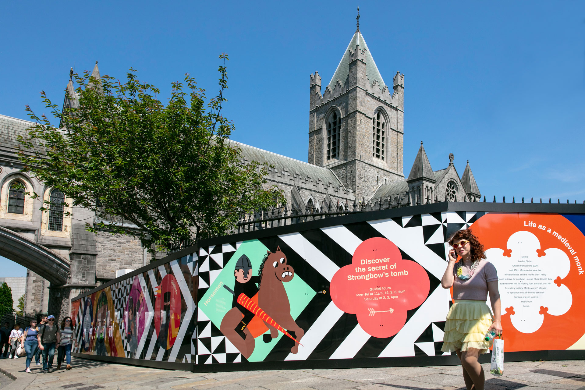 Cover image: Christ Church Cathedral Hoarding (2018)