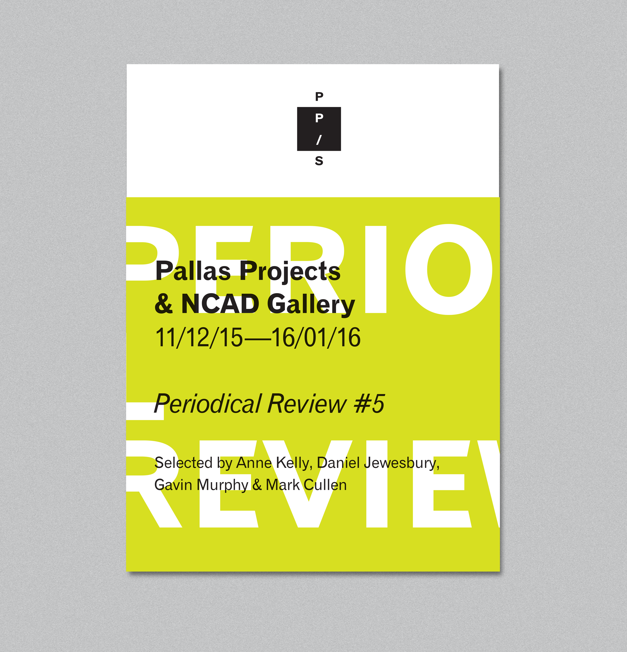 Cover image: Periodical Review #5
