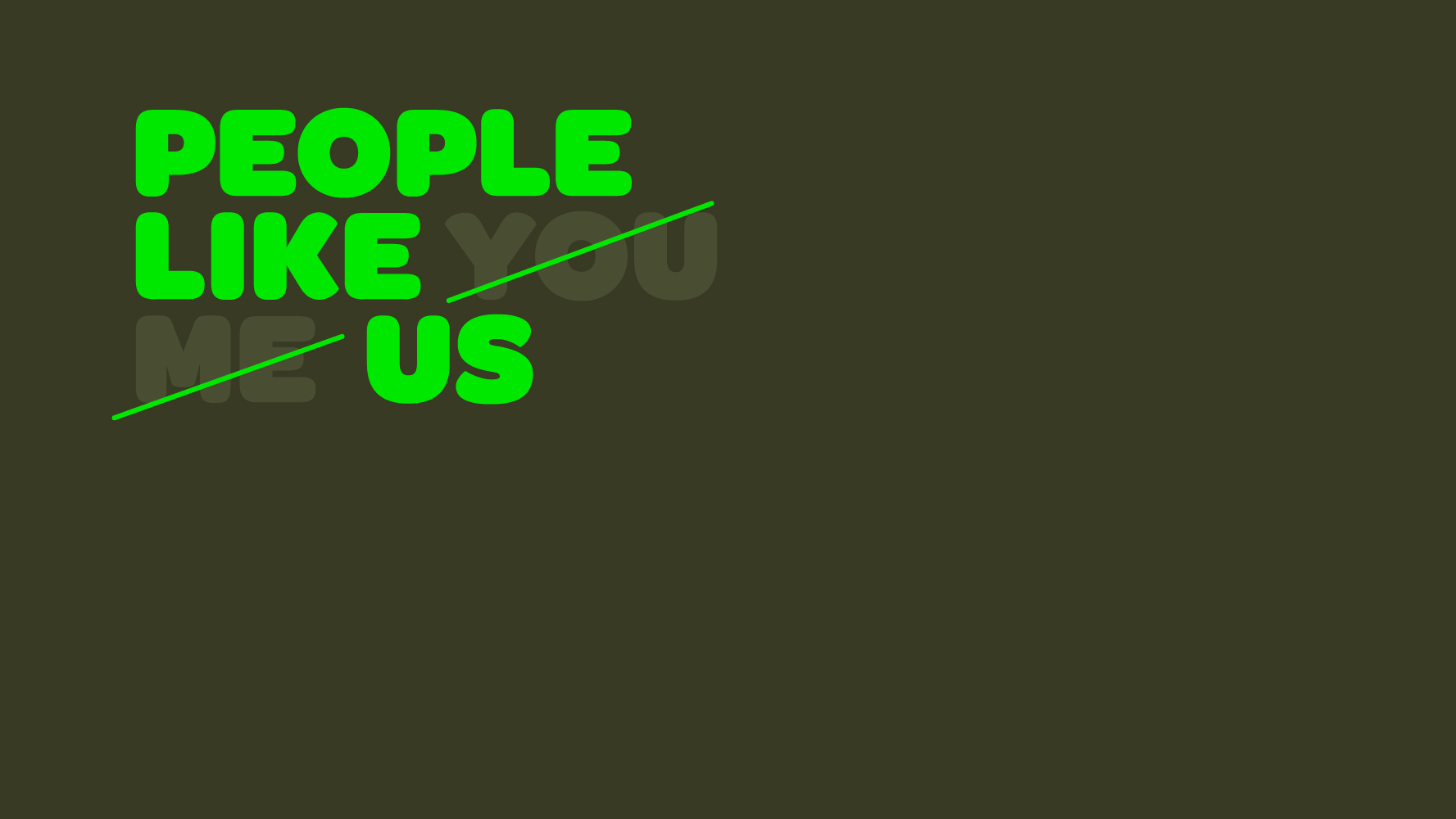 Cover image: People Like Us