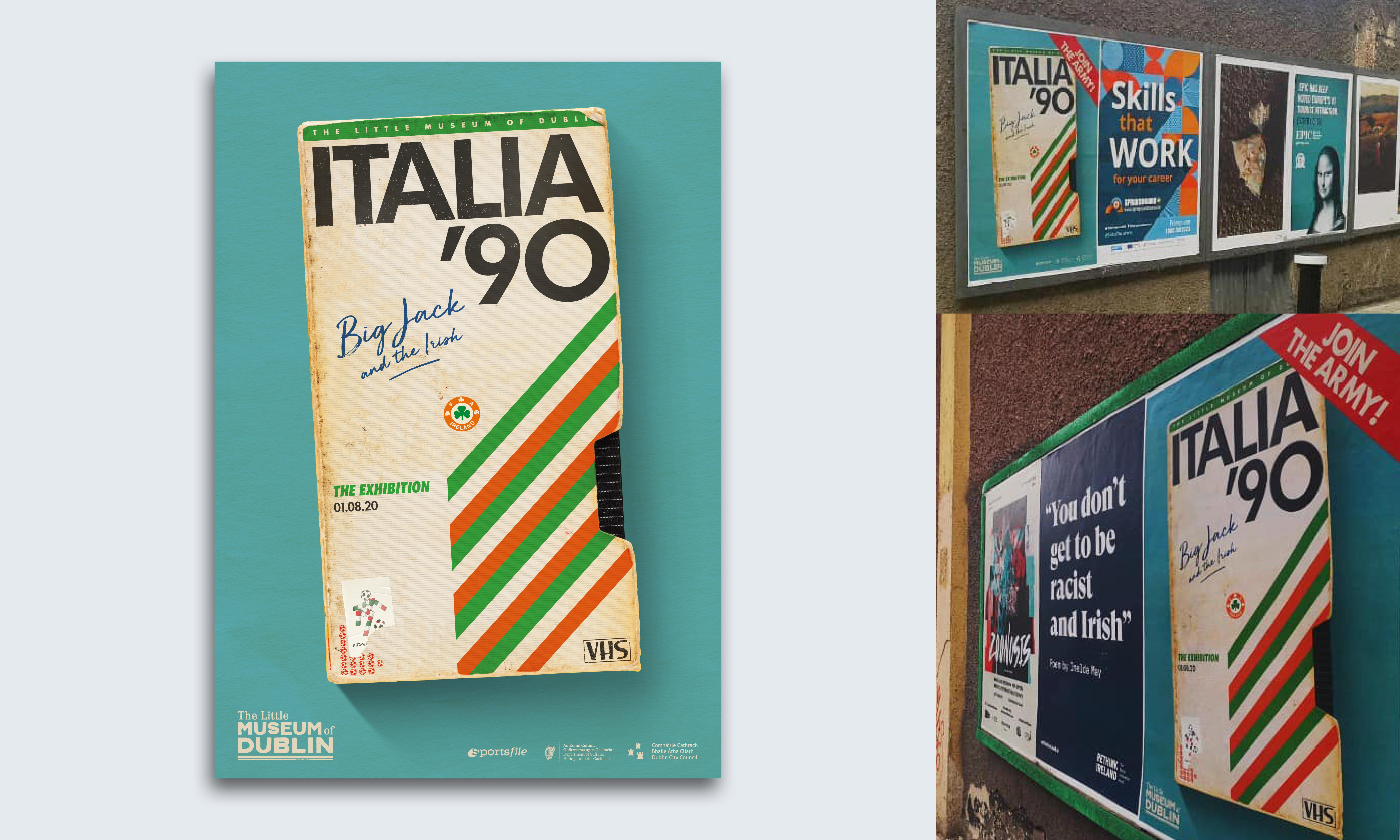 Cover image: Italia '90 Exhibition