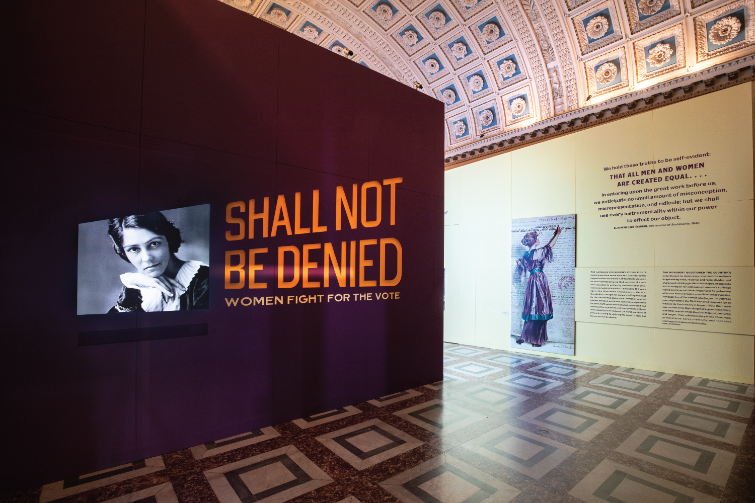 Cover image: 'Shall Not Be Denied: Women Fight for the Vote'