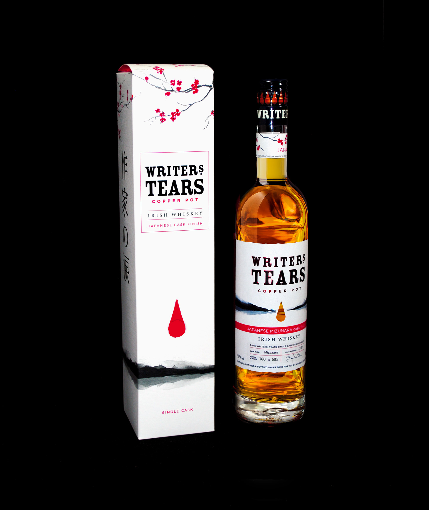 Cover image: Packaging Design for Writers' Tears Copper Pot Japanese Cask Finish
