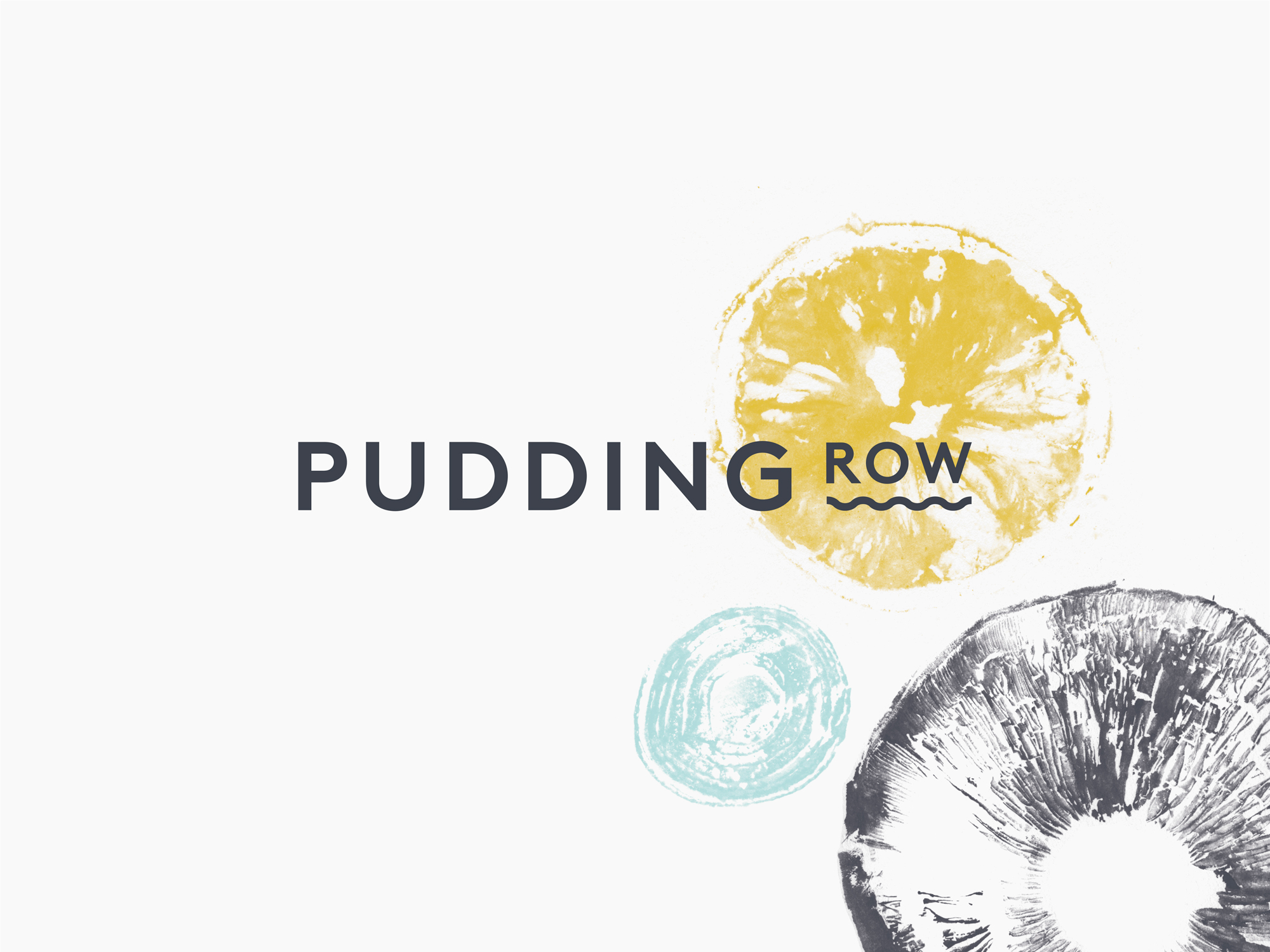 Cover image: Pudding Row