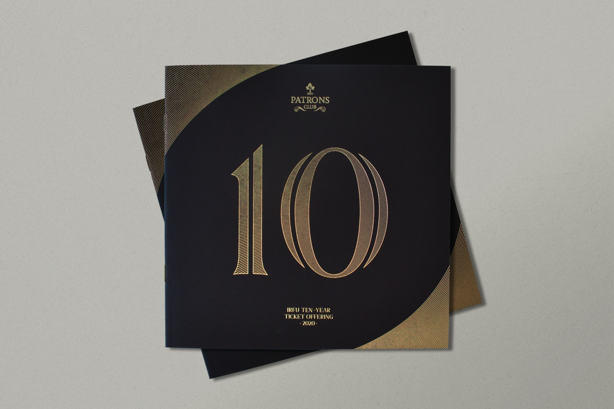 Cover image: IRFU Patrons Club 10 Year Ticket