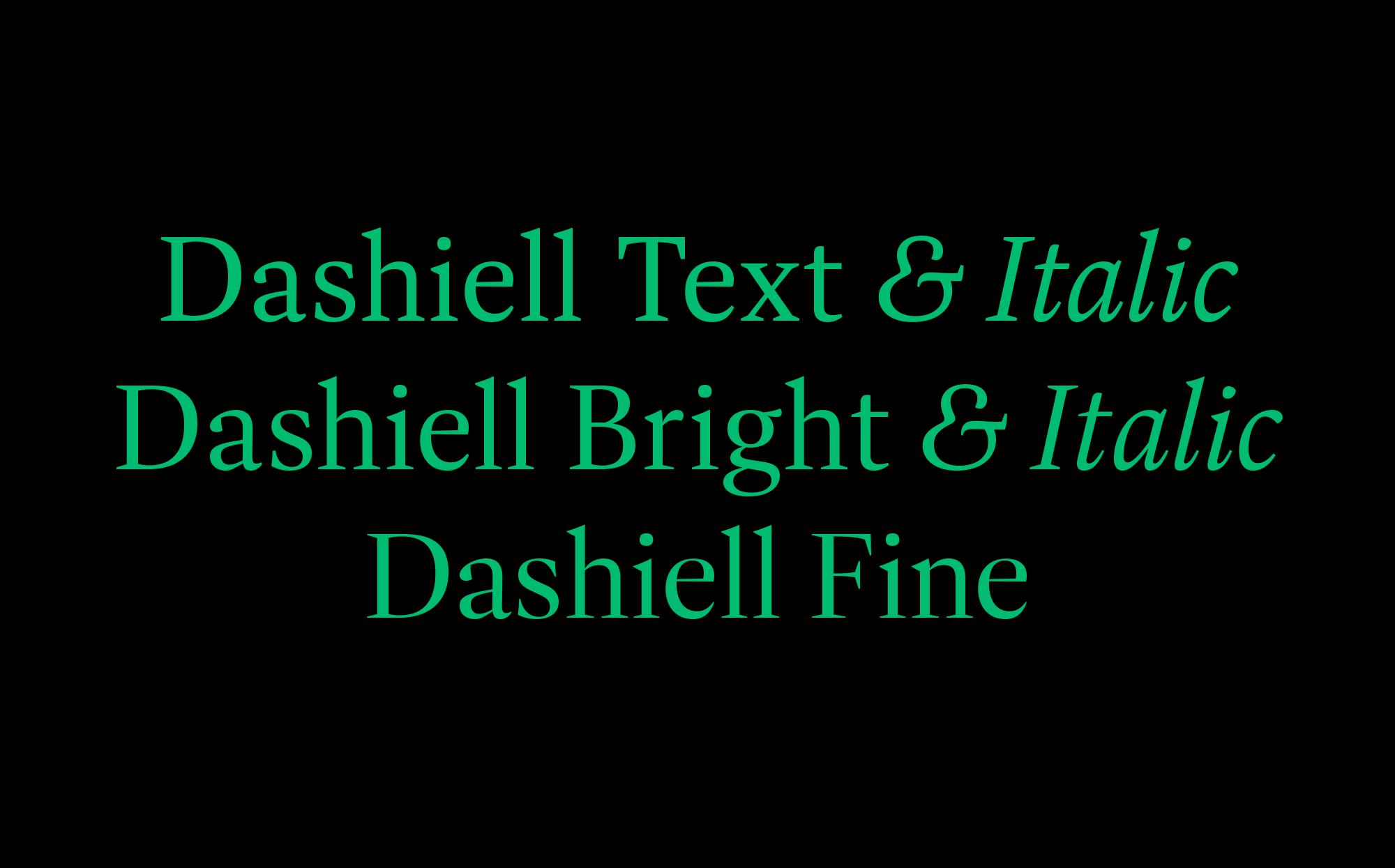 Cover image: Dashiell