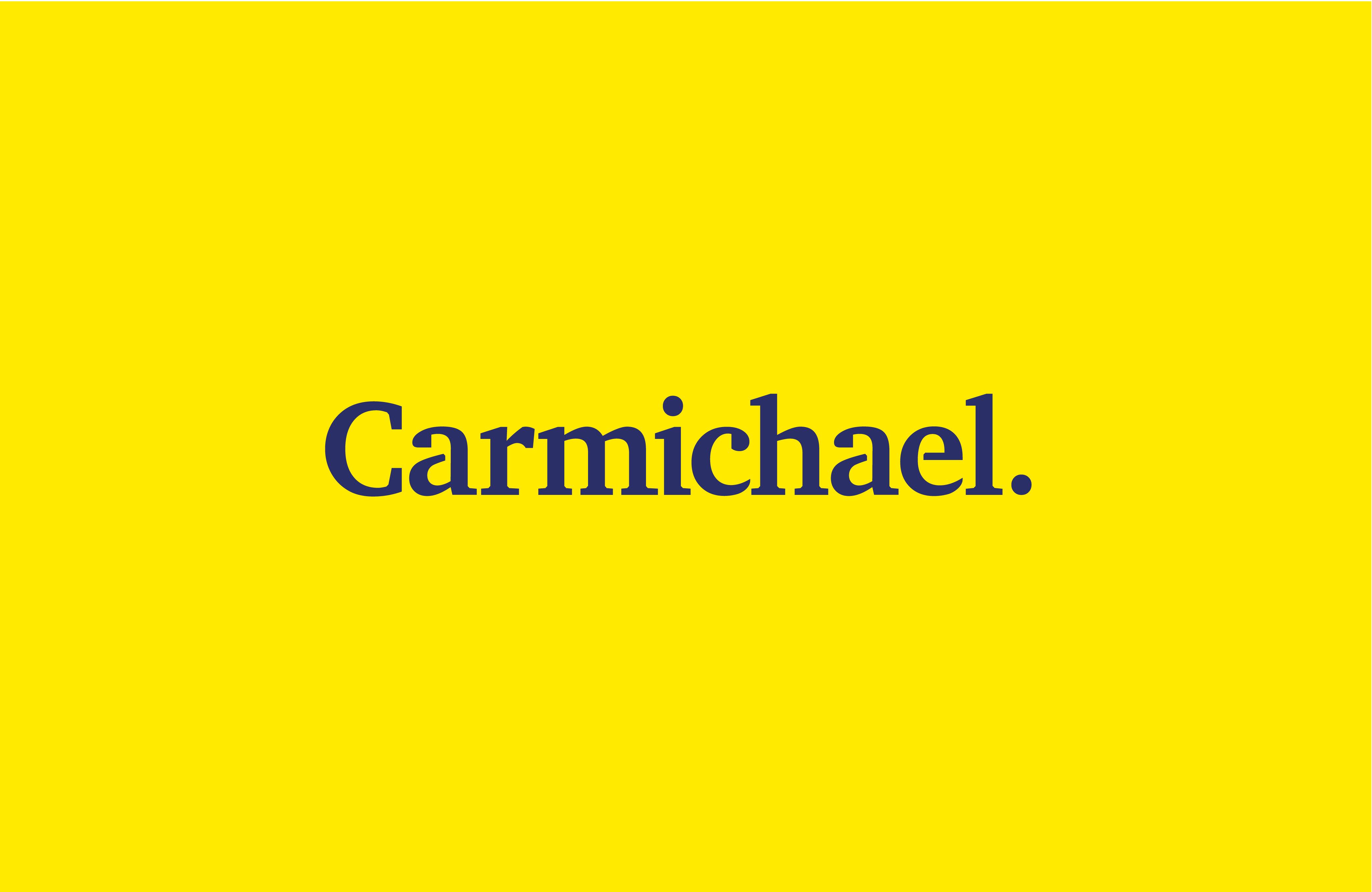 Cover image: Carmichael