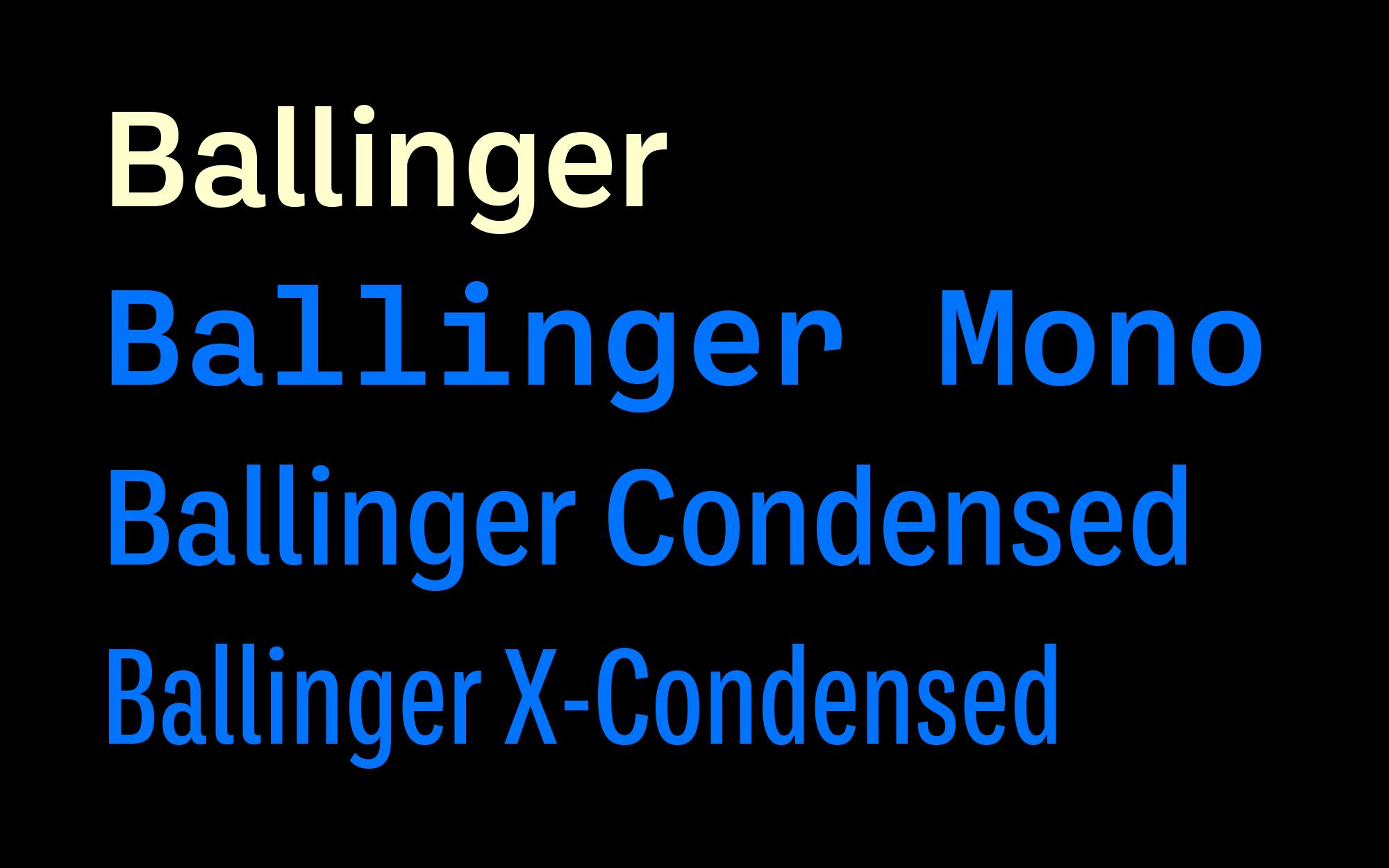 Cover image: Ballinger