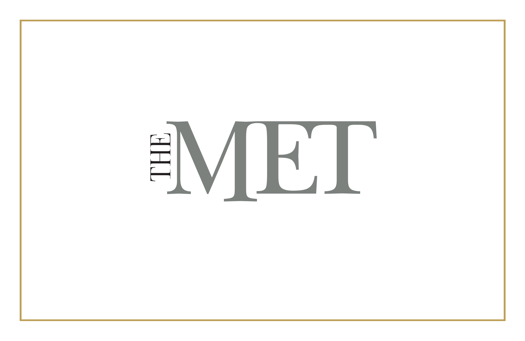 Cover image: The Met Logo