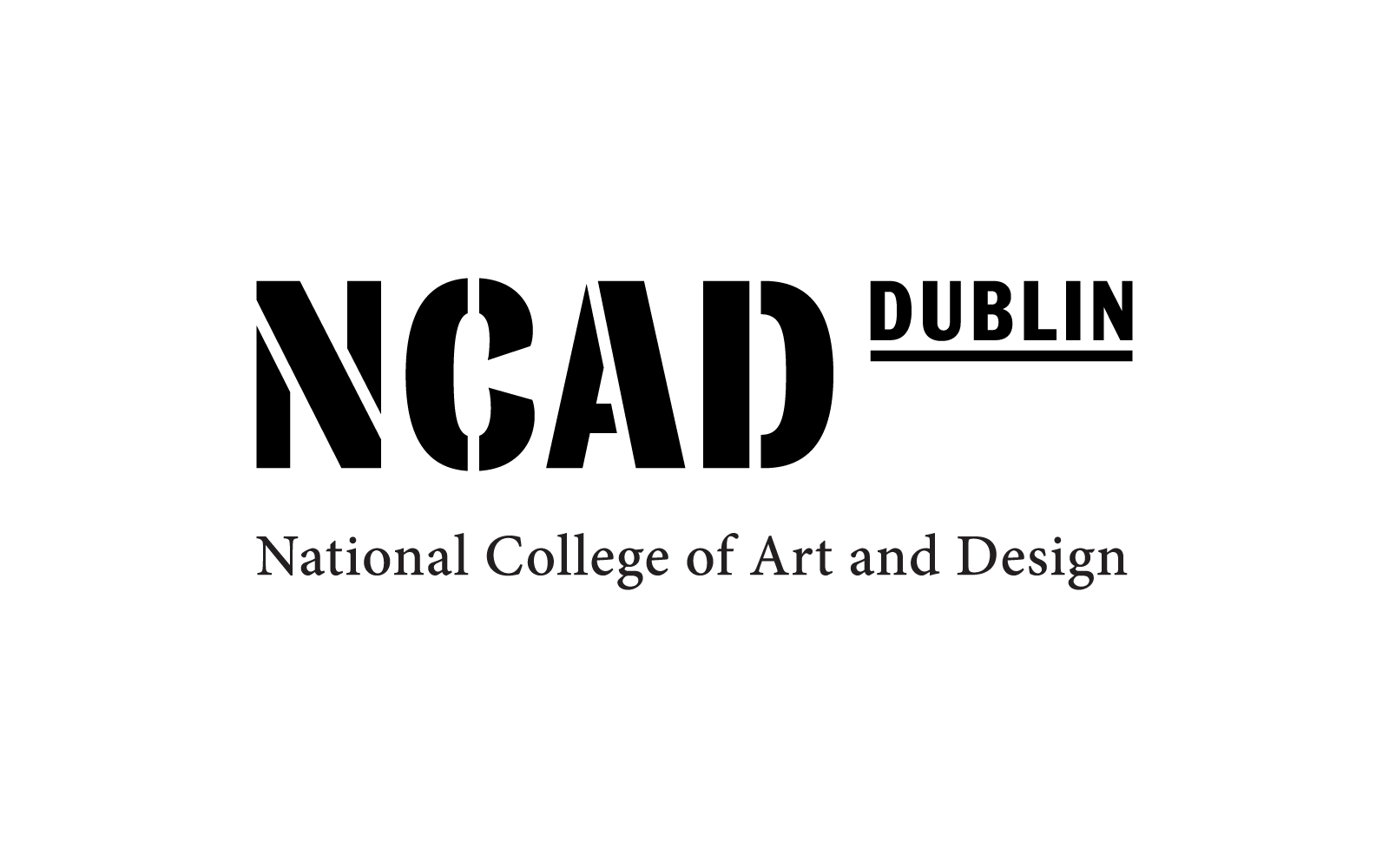Cover image: Bill - the new NCAD typeface + identity (2014)