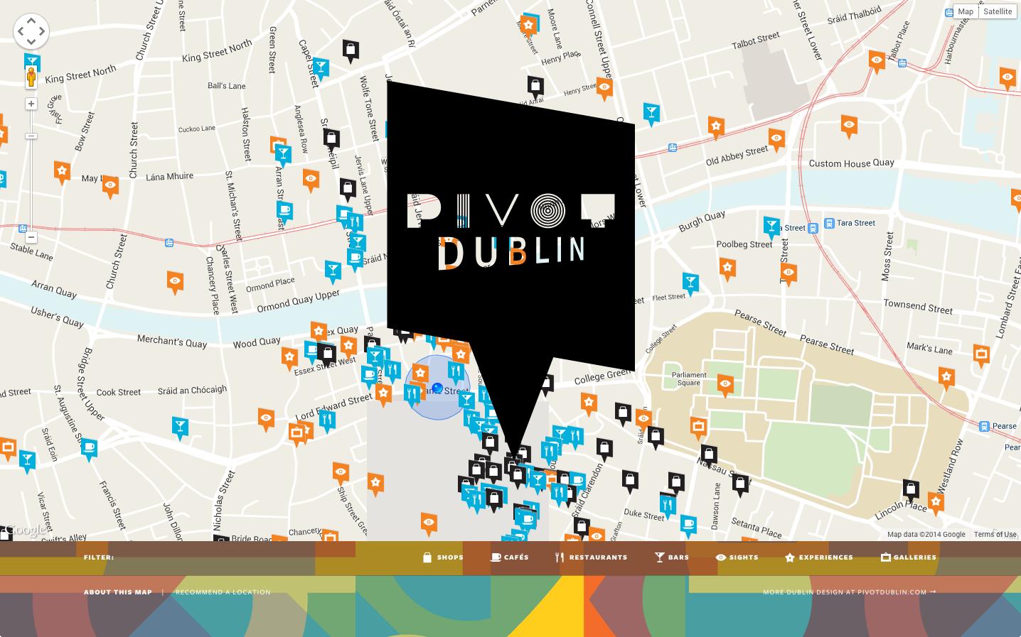 Cover image: Pivot Dublin Map Online (2013)