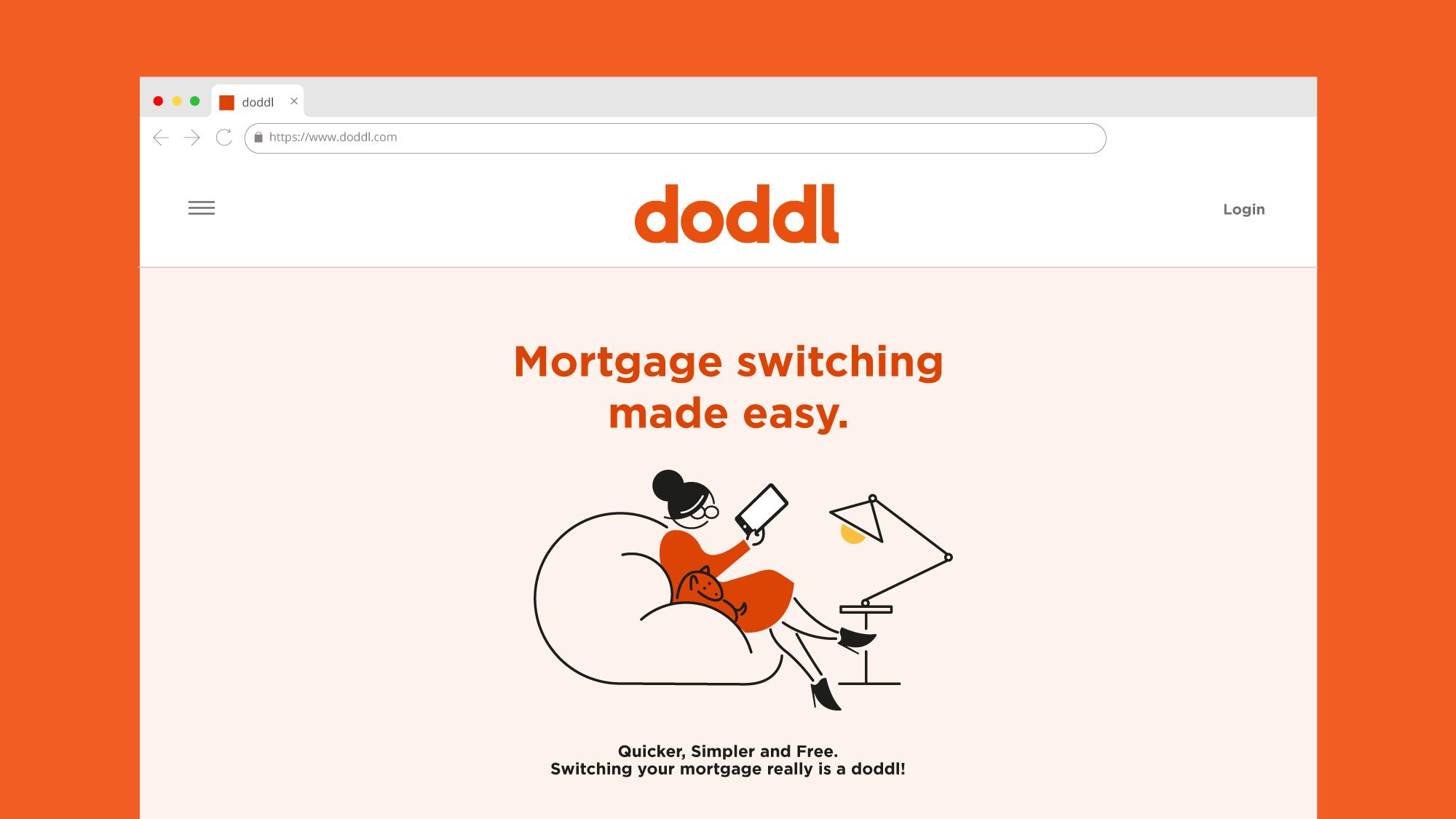 Cover image: doddl brand scheme