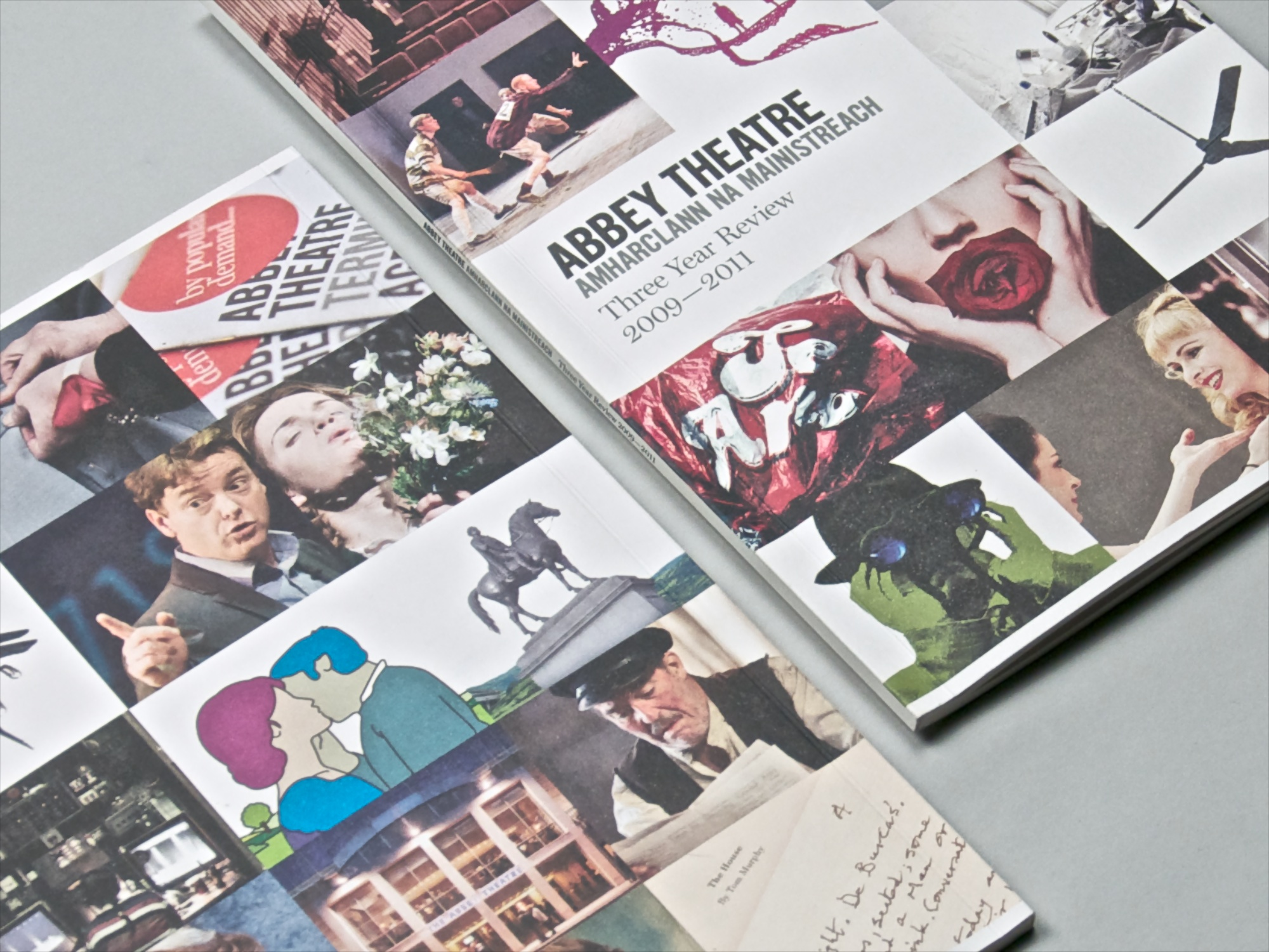 Cover image: Abbey Theatre Three Year Review 2009–2011 (2012)