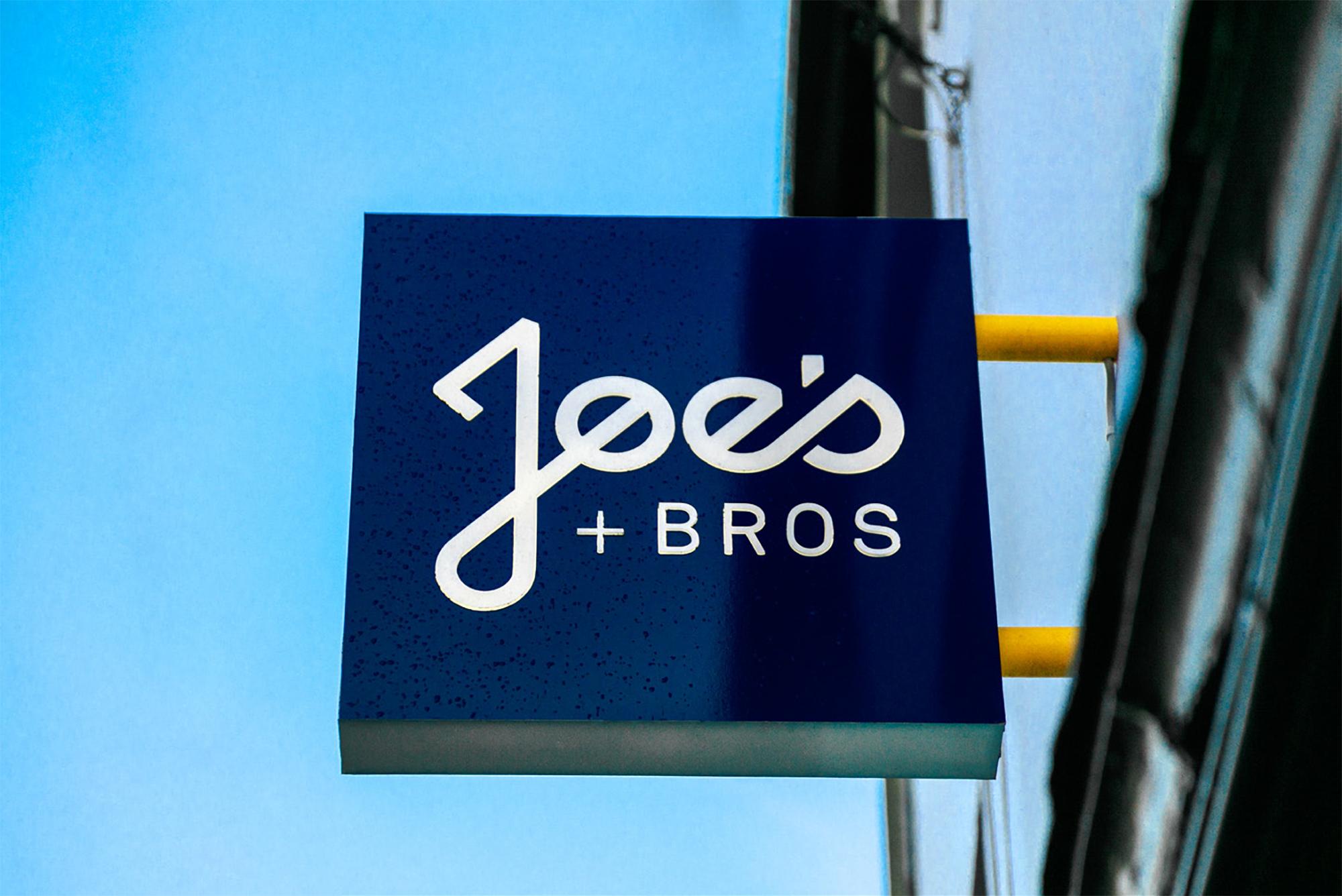 Cover image: Joe's + Bros