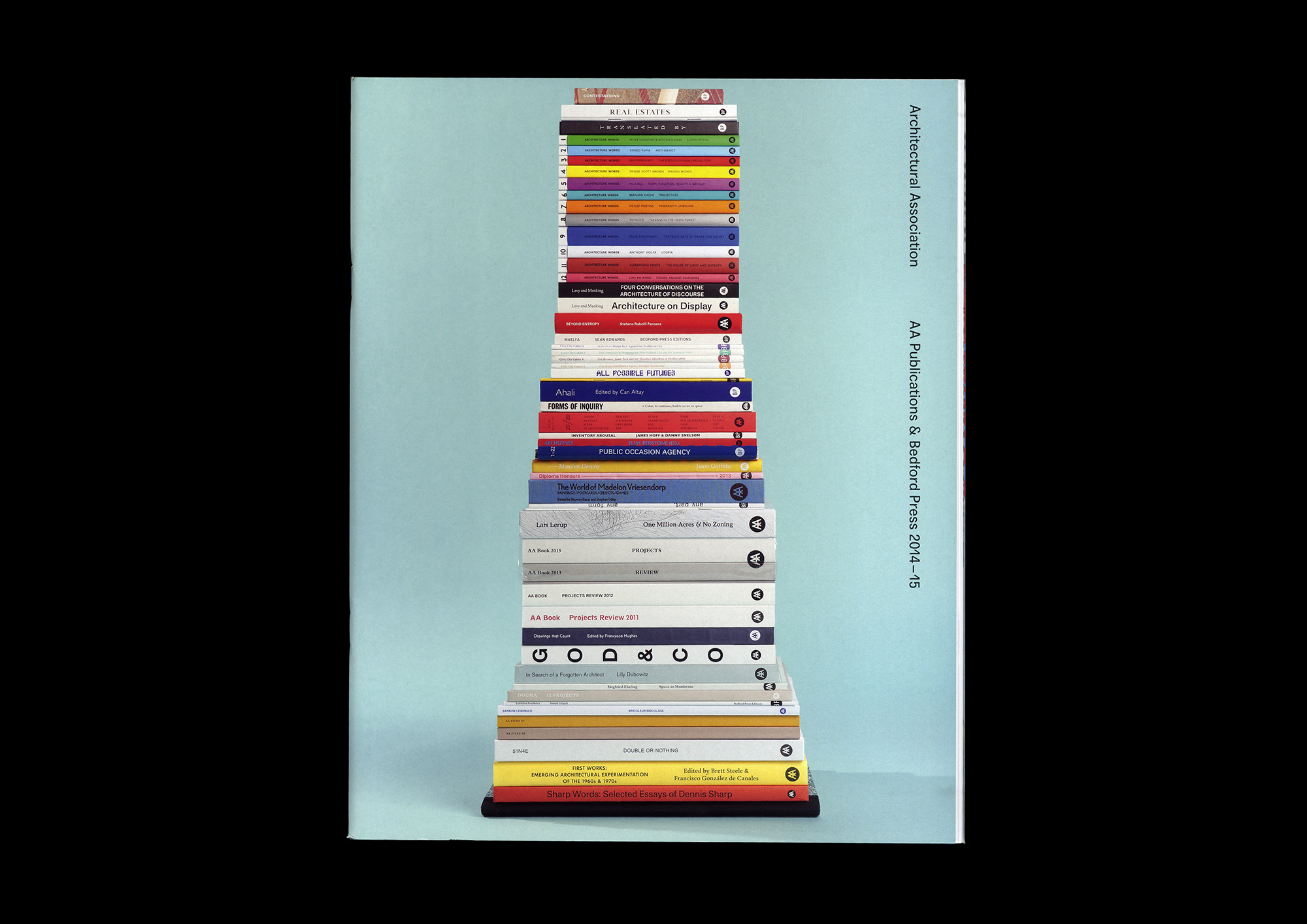 Cover image: AA Publications & Bedford Press catalogue (2014)