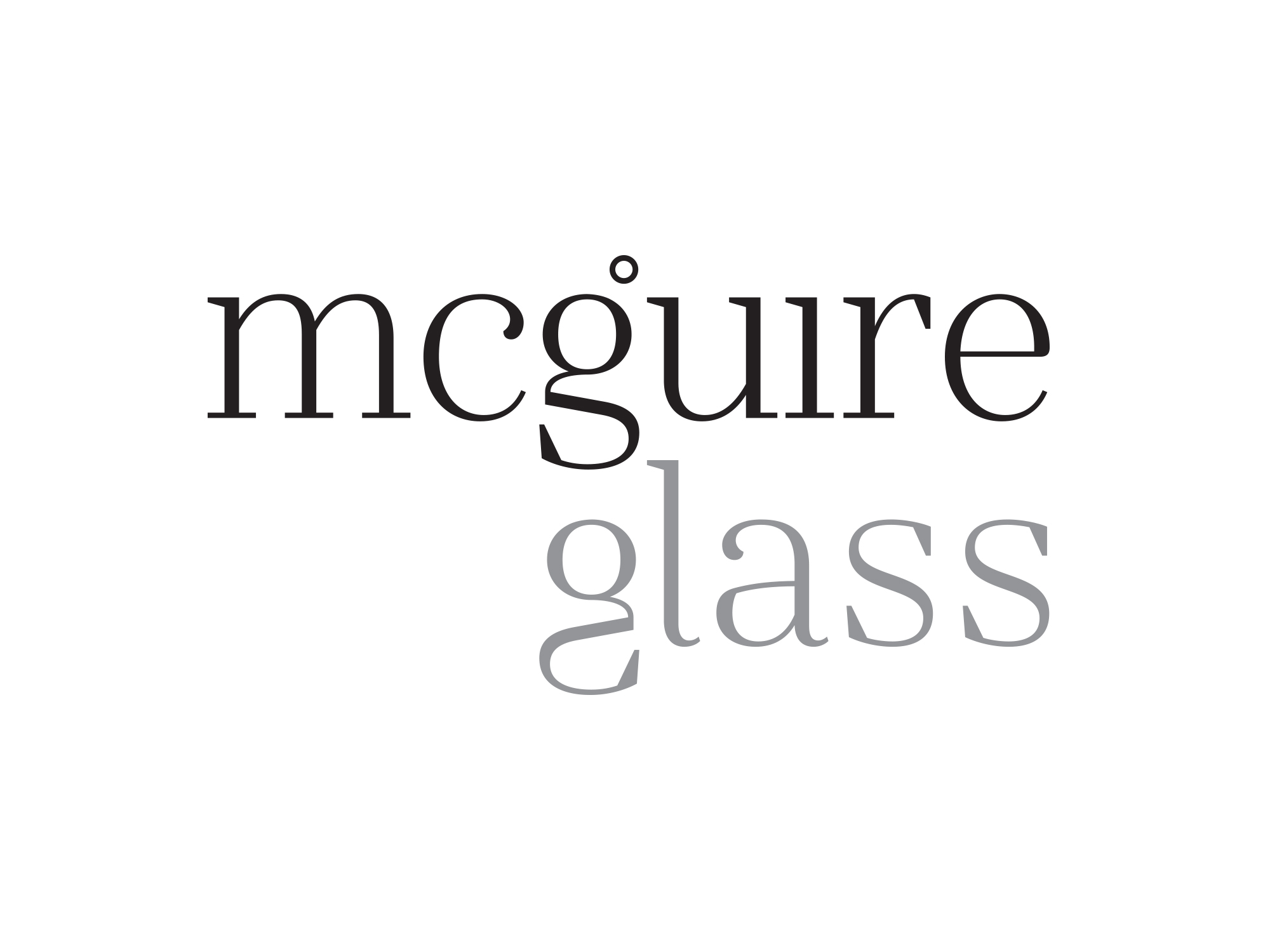 Cover image: McGuire Glass