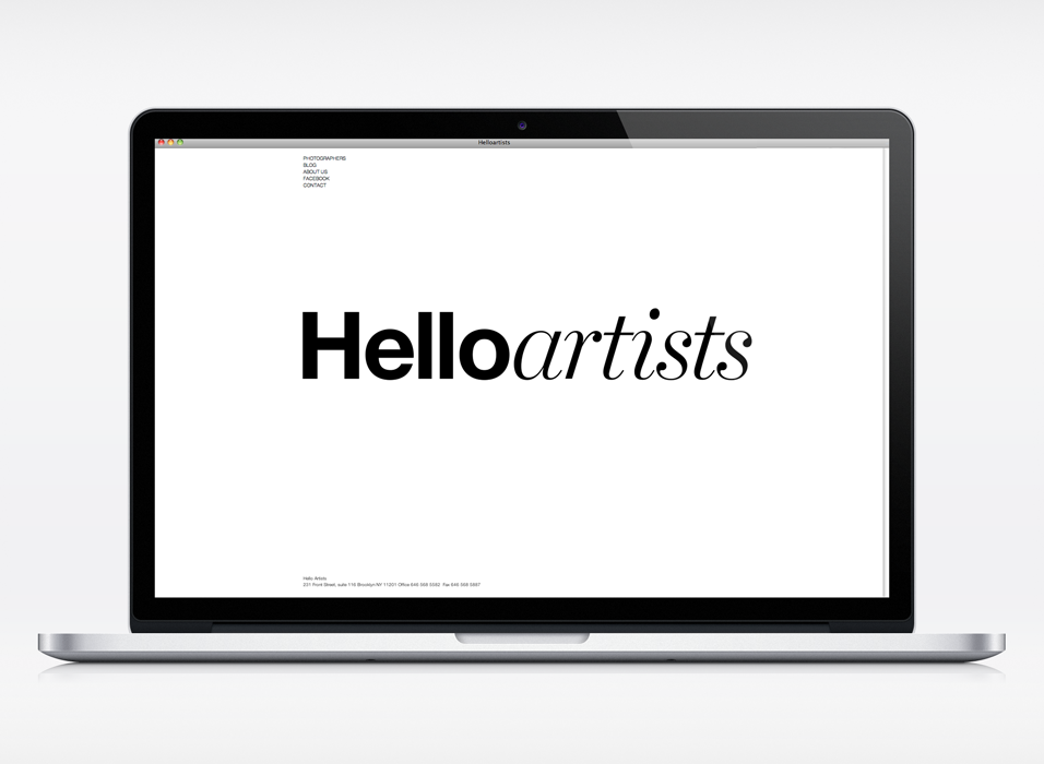 Cover image: Hello Artists