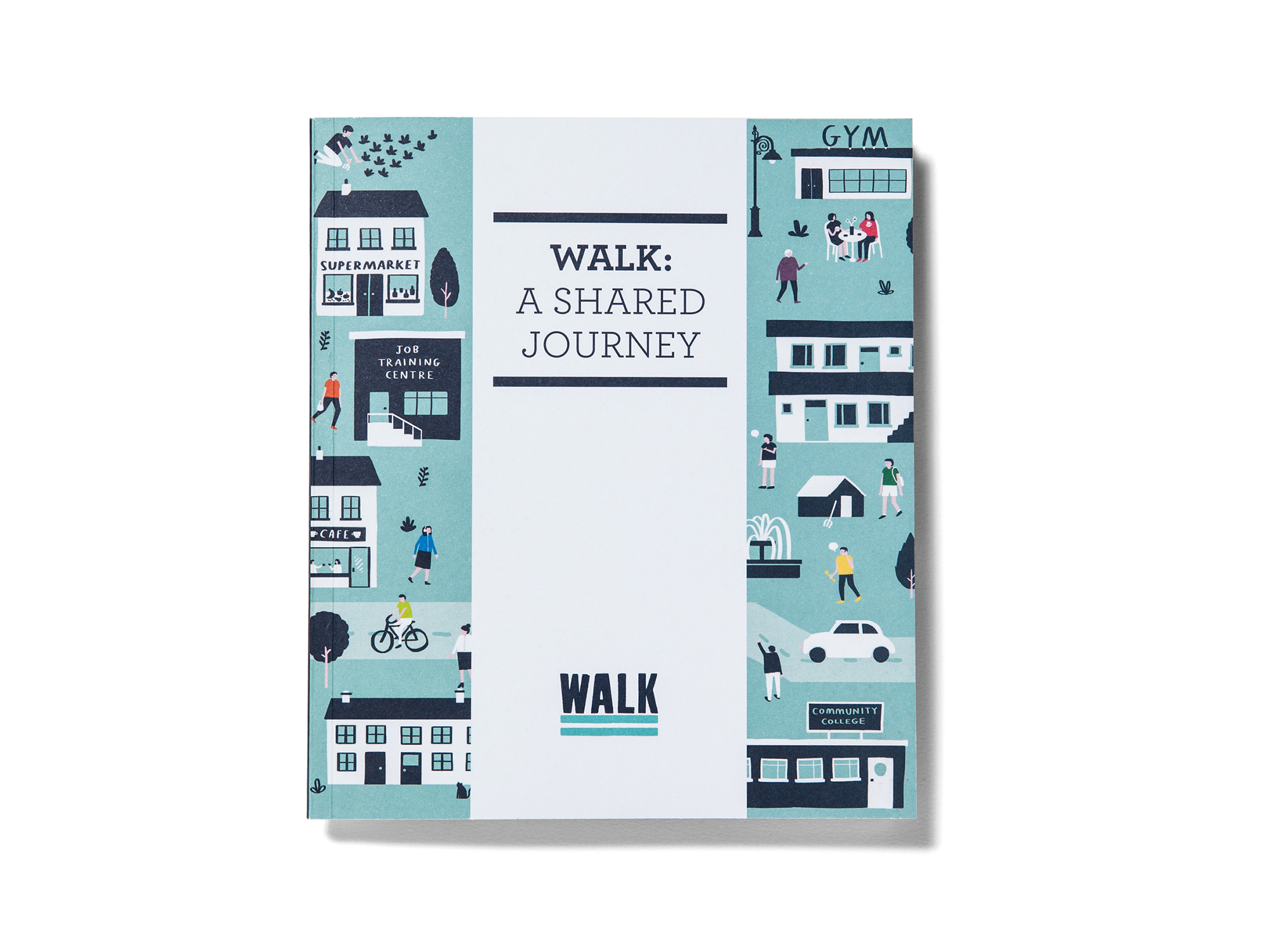 Cover image: WALK Annual Report (2013)