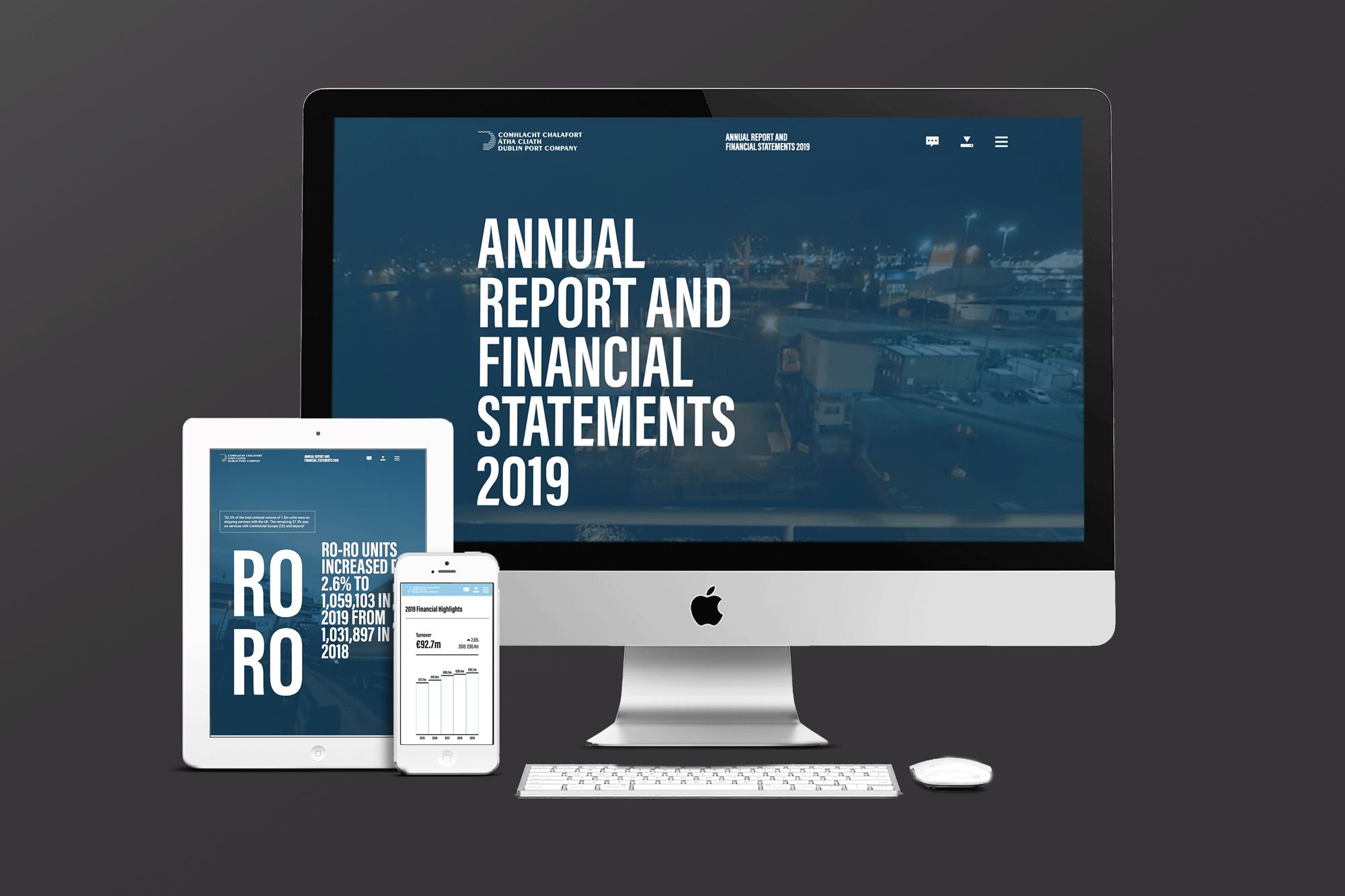 Cover image: Dublin Port Company Annual Report