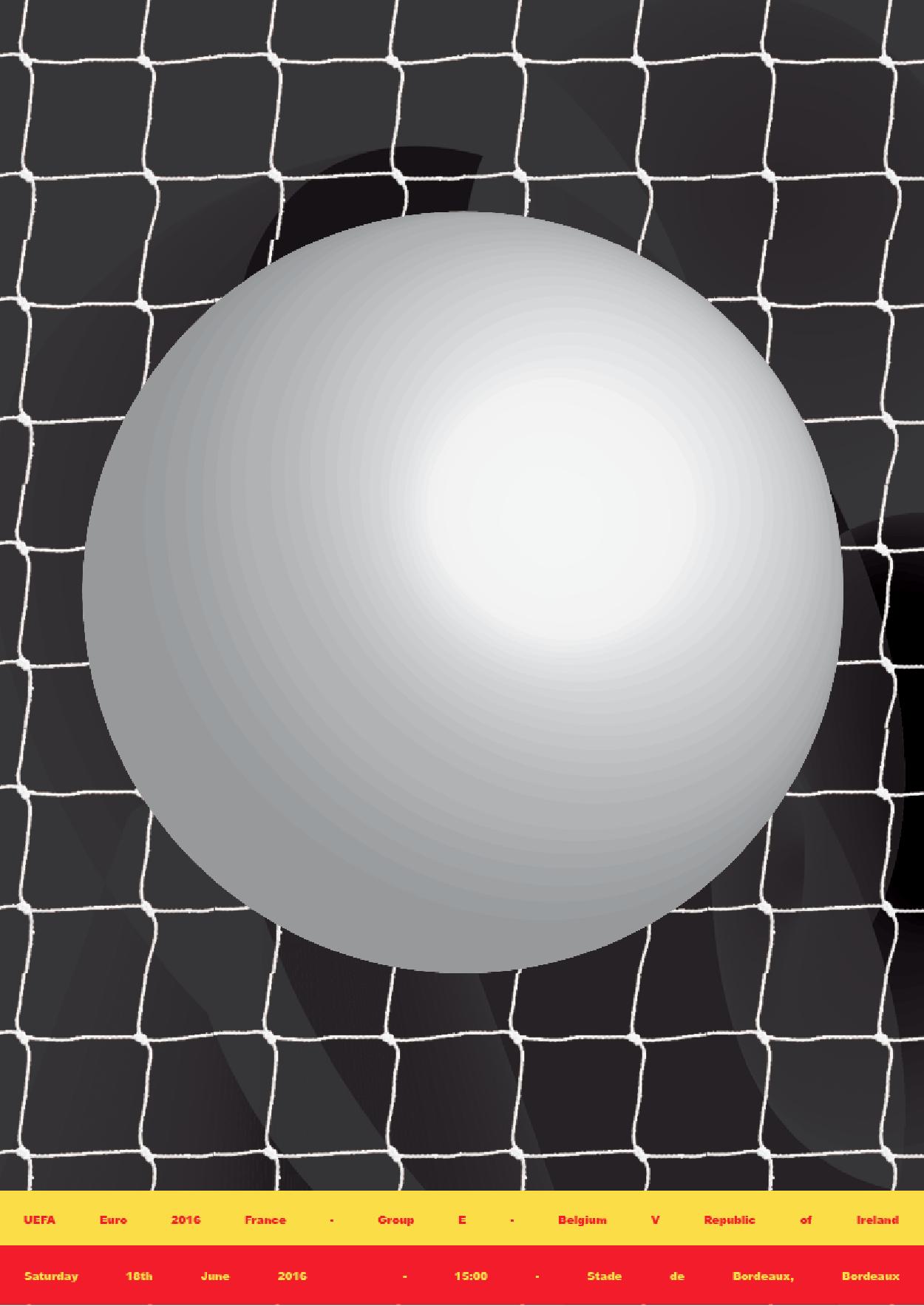 Cover image: Póg Mo Goal X OFFSET – Euro 2016 Poster