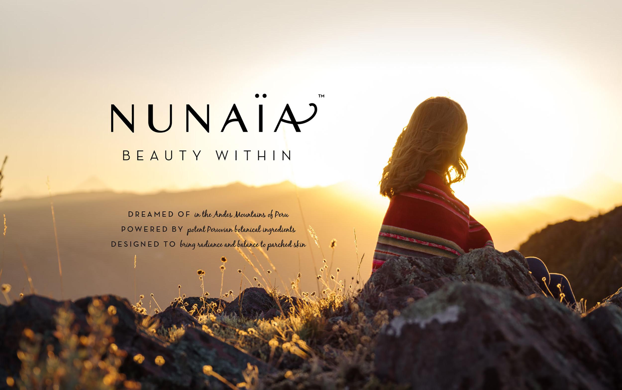 Cover image: Nunaïa Beauty - Brand Identity